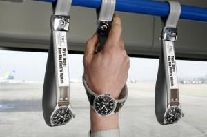 Партизанская реклама часов