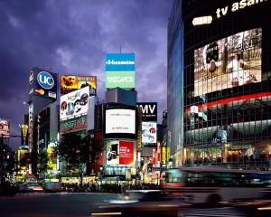 наружная реклама в Токио