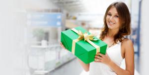 подарок за покупку - стимулирование спроса