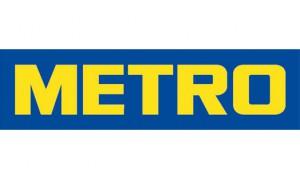 Логотип компании metro