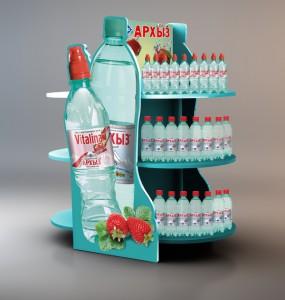 рекламная продукция воды Архыз