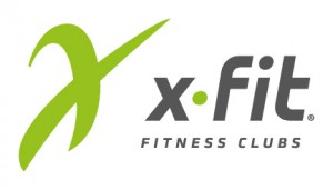 Логотип компании x-fit