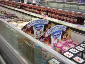 Шелфбаннер в супермаркете